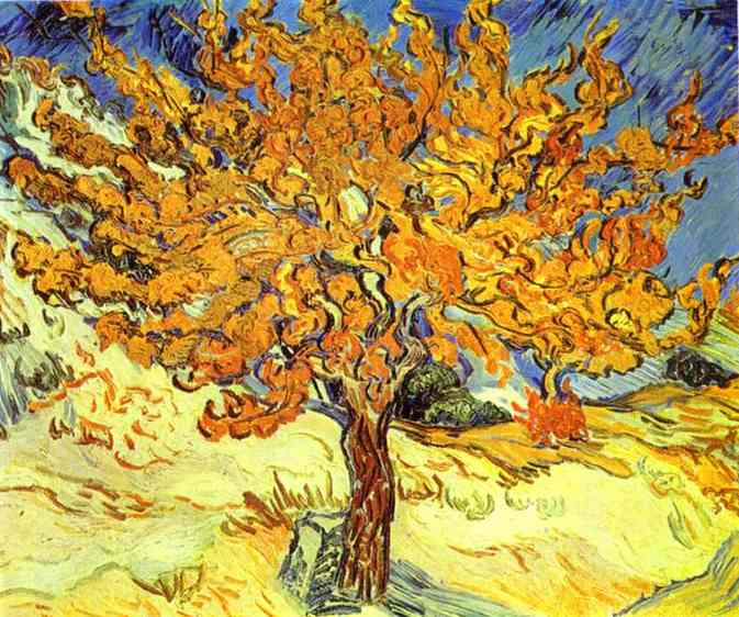 Vincent+Van+Gogh+-+Mulberry+Tree+