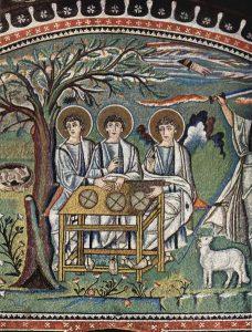311-l-ospitalita-di-abramo-alle-querce-di-mamre-particolare-di-un-mosaico-di-san-vitale-ravenna