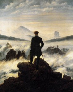 Caspar David Friedrich - Wanderer in a Sea of Fog