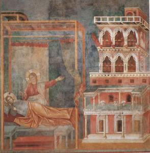 basilica inferiore giotto sogno