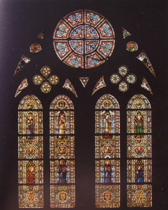 basilica inferiore vetrate