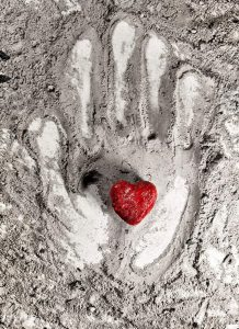 http://www.dreamstime.com/royalty-free-stock-image-love-heart-hand-print-ash-grey-image41251026